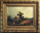 romantische-landschaft-oel-lwd-um-1850-sign.3