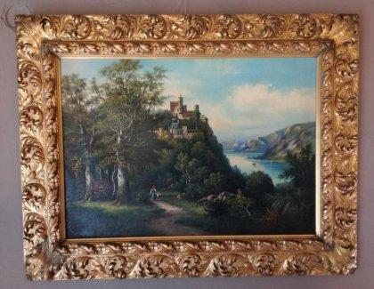 italienische-landschaft-um-1880-oel-lwd